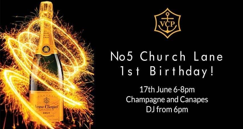 No5 Church Lane Turns 1!
