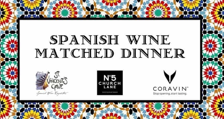 Spanish Wine Matched Dinner at No5